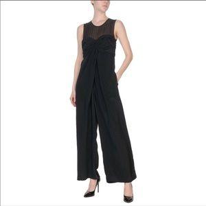 3.1 Phillip Lim 100% Silk Black Pantsuit Sz 4